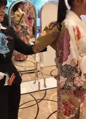 201901振袖展示会①